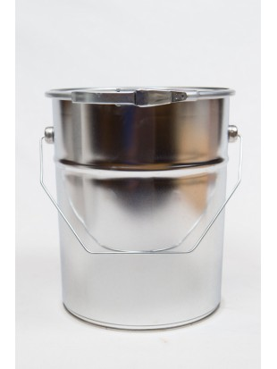 METAL bucket with lid 5 l