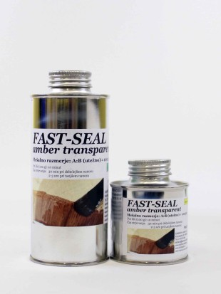 FAST SEAL amber transparent 200   100 g