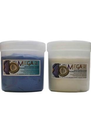 MEGASIL mold making polymer 1 kg + 1 kg