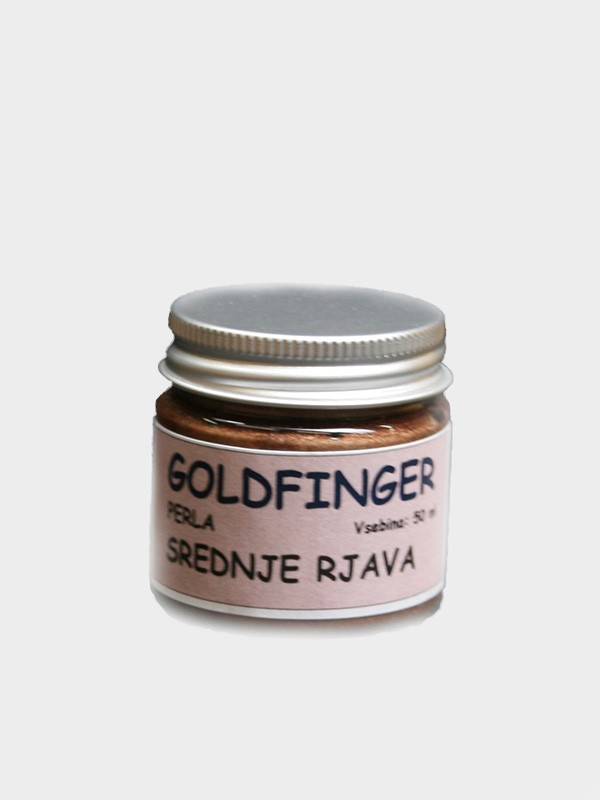 GOLD FINGER PERLA srednje rjava  50 ml