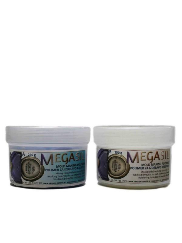 MEGASIL mold making polymer 250 g + 250 g